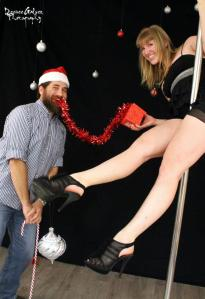 Thanks Desiree Galvez Photography!  Ron and I playing around at the VF Holiday Soiree.