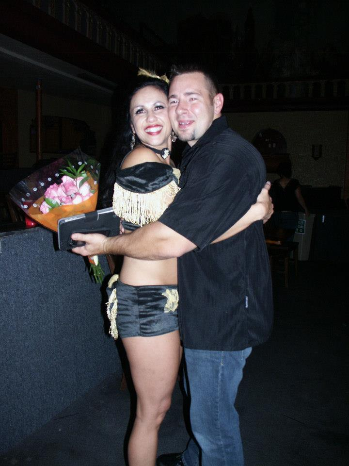 I FB stalked Mel and found this shot from Shannon, so thanks ladies!  Here are Mel and Joe after Melanie won the Masters Division at the Colorado Pole Championship.
